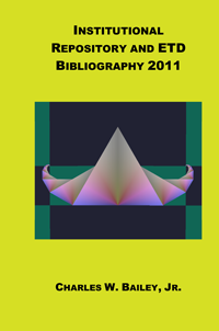 Institutional Repository and ETD Bibliography 2011 cover